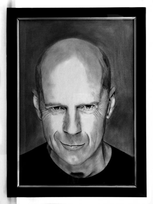Bruce Willis by AntonioLiviu